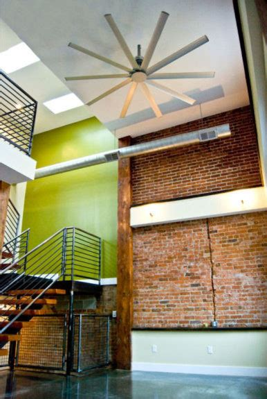 isis ceiling fan contemporary staircase louisville