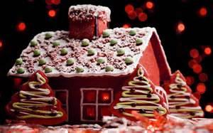 gingerbread house christmas cake hd wallpaper 04872