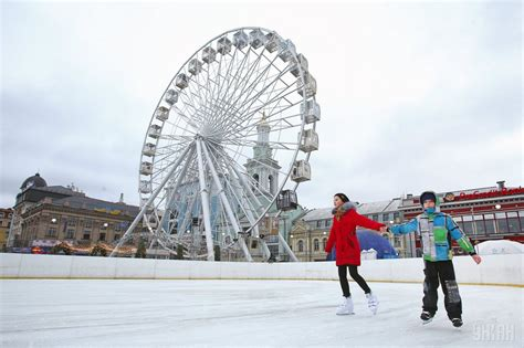 theme park news new year theme park in kyiv welcomes guests photo unian