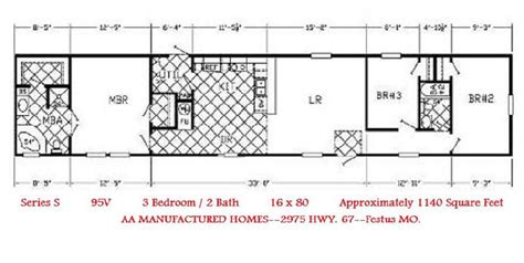 2 bedroom 2 bath single wide mobile home floor plans single wide trailer home floor plans modern modular home