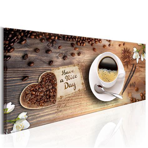 esszimmer wandbilder bilder leinwand wandbilder bild k 252 che kochen kaffe caffe