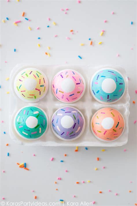 easter eggs ideas kara s party ideas diy doughnut easter eggs kara s