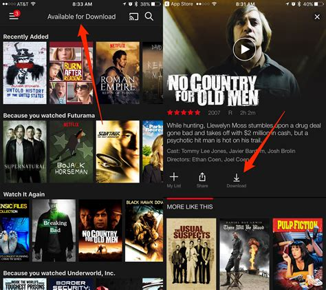 Netflix Section by Netflix Now Lets You To Offline Bgr