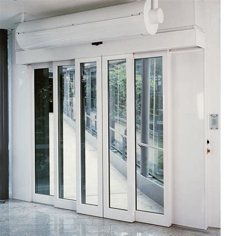 Dorma Tst R Automatic Telescopic Sliding Door With Dorma Sliding Glass Doors