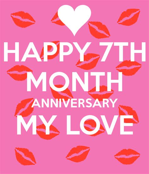 7 month anniversary quotes for him