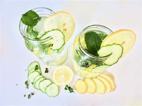 Best Cucumber Detox Water by Lemon Cucumber Detox Water The Honest
