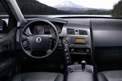 Ssangyong Kyron Interior by 2014 Ssangyong Actyon Sport Review Prices Specs