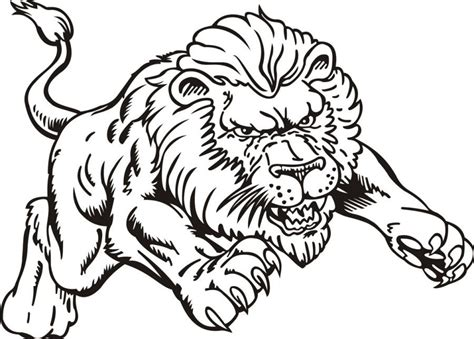 male lion coloring pages impressive pictures of lions to color free printable male