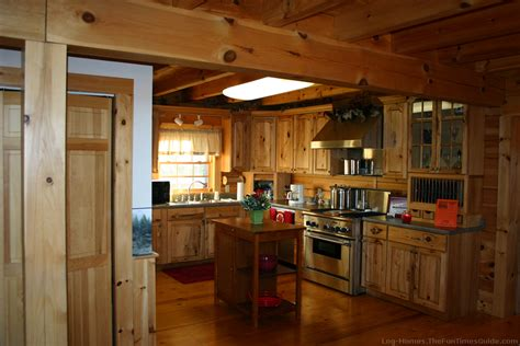 how to choose kitchen cabinets for your log home