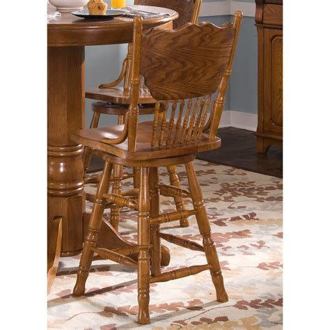 bar stool furniture stores liberty furniture 10 b517 nostalgia press back bar stool