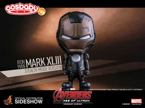 Toys Cosbaby Iron Xliii Stealth Mode toys age of ultron iron xliii stealth mode version exclusive cosbaby pre