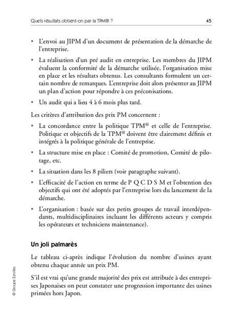 Le Guide De La Tpm Total Productive Maintenance