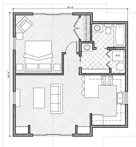 Accessory Dwelling Unit Floor Plans by Adus