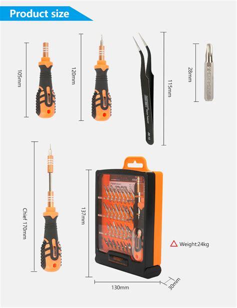 Jakemy 33 In 1 Removal Bit Screwdriver Set Jm 6093 jakemy jm 8101 33in1 screwdriver set