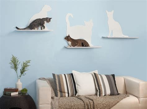 How To Make A Cat Shelf by Help Your Cat Reach A New Level Stylish Climbing Shelves