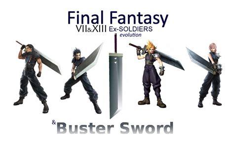 Final Fantasy Memes - final fantasy meme ex soldiers 7 13 evolution by