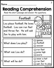 best 25 reading comprehension grade 1 ideas on pinterest