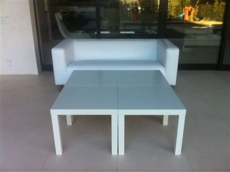leather white table rentals los angeles king and