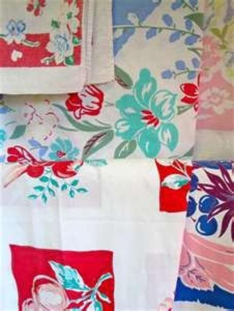 Vintage Kitchen Tablecloths by 138 Best Images About Kitchen Linens On
