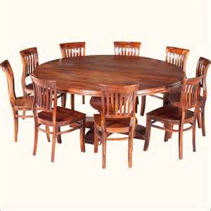 Kitchen Tables Furniture by Best 25 Large Round Dining Table Ideas On Pinterest