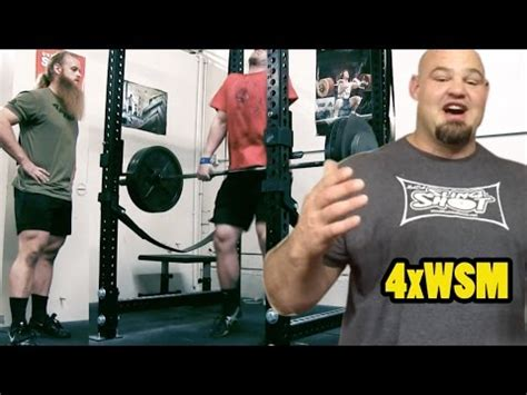brian shaw bench press deadlift training a message from brian shaw youtube