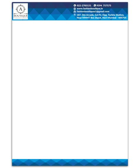 Business Letterhead Creator how to create a letterhead template 28 images