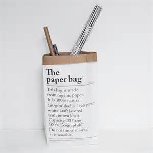 Recycled Gift Wrap - le sac en papier the paper bag villa madelief