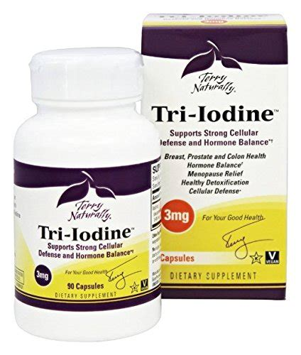 Iodine Detox Symptoms And Duration by Terry Naturally Tri Iodine 3 Mg 90 Caps