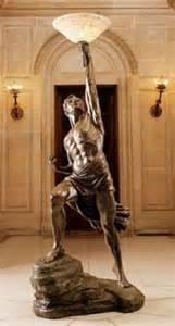 Floor Statues by Prometheus Sculptural Floor L Home Decor