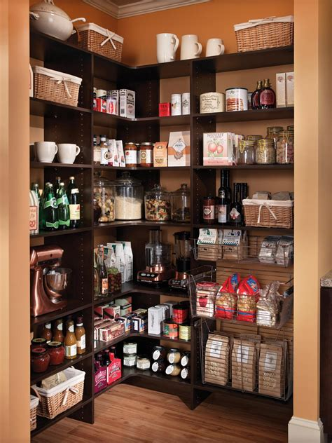 Organizing Kitchen Pantry Ideas by Organize Your Kitchen Pantry Hgtv
