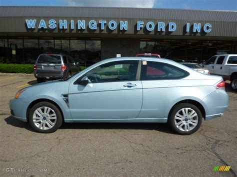 ford focus 2008 interior 2008 light blue metallic ford focus se coupe 31080152