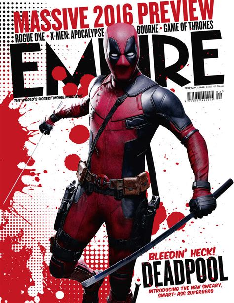 deadpool covers covers empire as deadpool