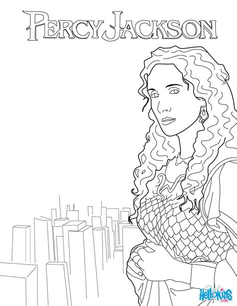 Athena Coloring Pages Hellokids Com Percy Jackson Coloring Pages