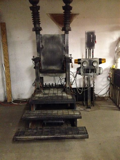 How To Make Electric Chair by Electric Chair Haunted Asylum