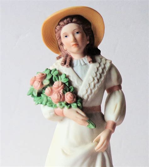 home interior porcelain figurines homco victorian lady figurines sercadia