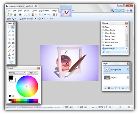 get paint overview features