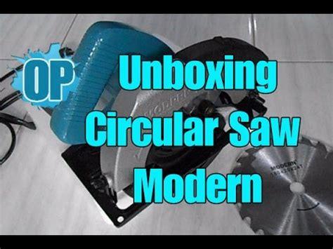 Gergaji Circular Modern unboxing circular saw modern mesin gergaji kayu modern