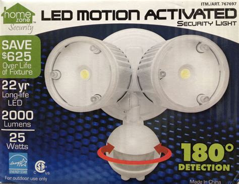 home zone security light new home zone 180 186 motion activated sensor outdoor led
