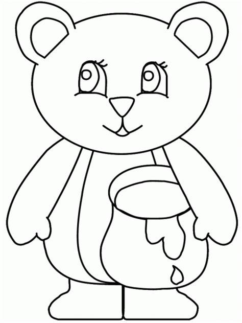 imagenes de oso para dibujar a lapiz colorear osito