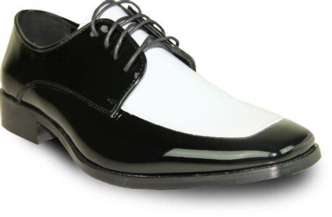 vangelo s tux 3 faux patent leather oxford black