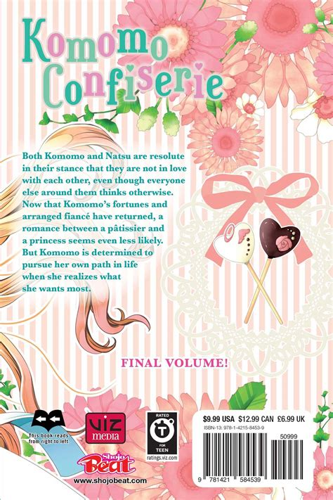 Komomos Confiserie Vol 1 komomo confiserie vol 5 book by maki minami official publisher page simon schuster uk