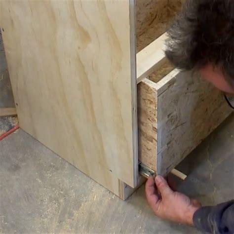 ball bearing drawer slides stuck home dzine home diy secret to easy mount of ball bearing