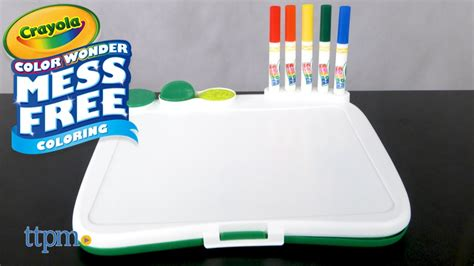 color wonder art desk color wonder art desk with sts from crayola youtube