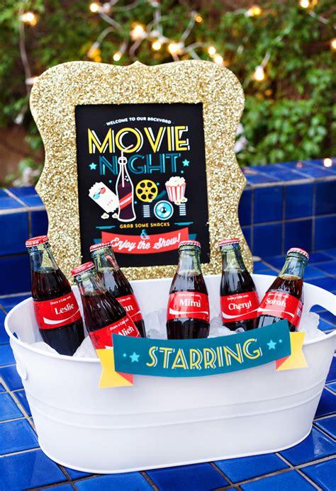 backyard movie night ideas simple creative outdoor movie night ideas hostess with the mostess 174