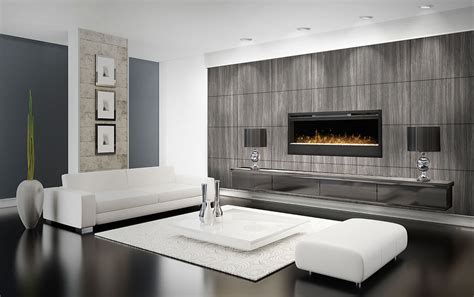 Bedroom Feature Wall electric fireplace electric firebox