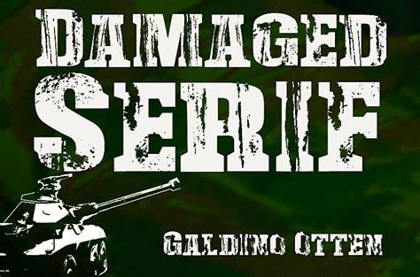 dafont military damaged serif font dafont com