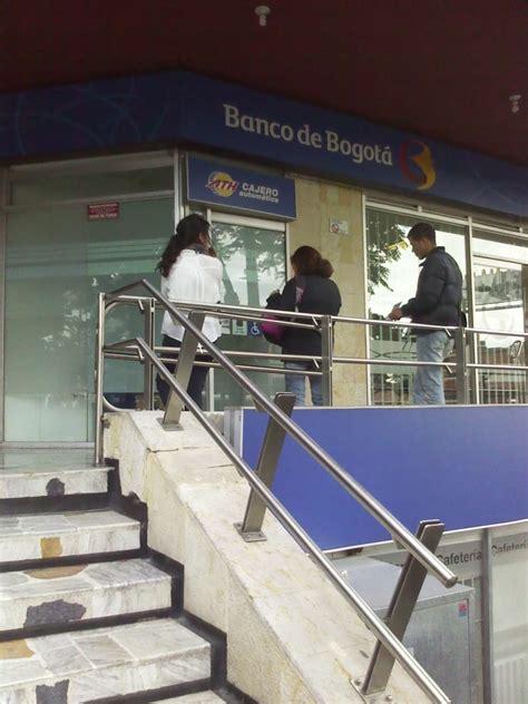 banco bogota banco de bogot 225 avenida chile bancos porciuncula