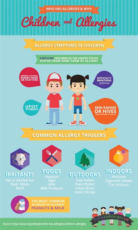 hypo allergenic food infographics my kid s food allergies
