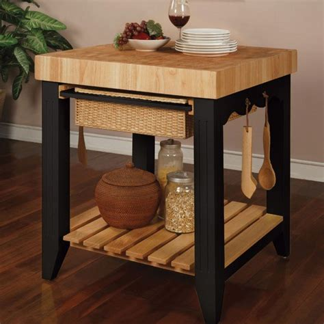 Chopping Table Kitchen A Butcher Block Table Top Is For Your Kitchen