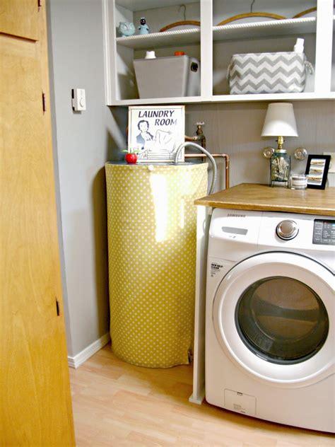 laundry room redo hiding  electrical panel hot